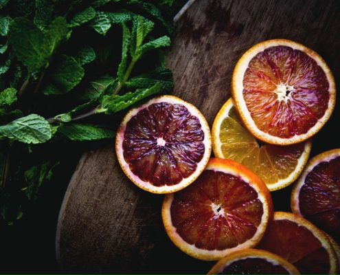 Storia dell'arancia