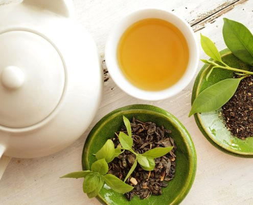 Storia del tè