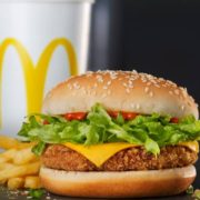 McDonald vegan burger