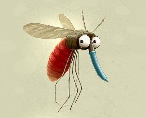 Tv anti zanzara