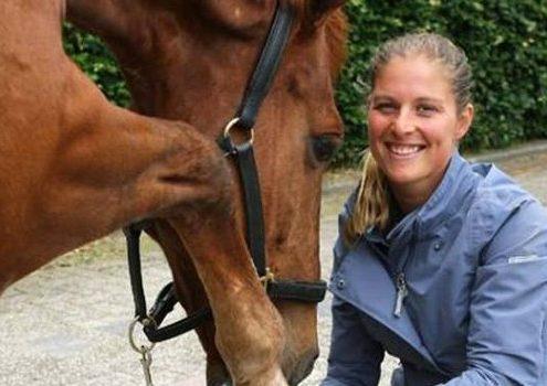 Parzival il cavallo e Adelinde l'atleta